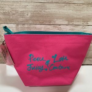 Juicy Couture Canvas Cosmetic Bag